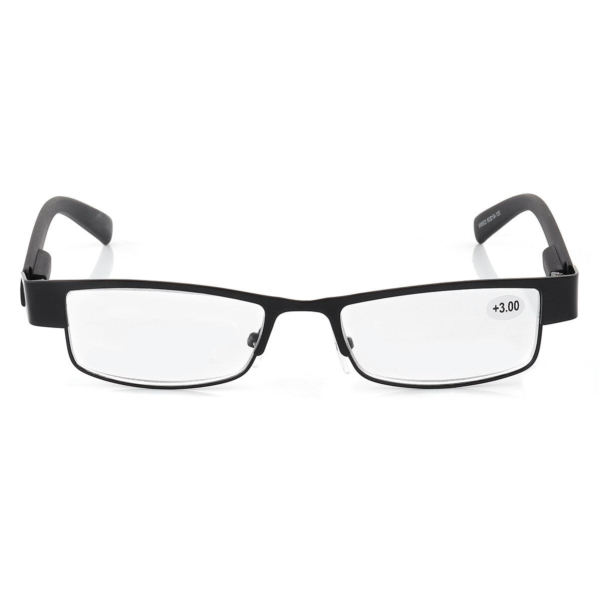 KCASA Metal Frame Anti Fadiga Presbiopia Melhor Leitura Óculos Força Magnifier