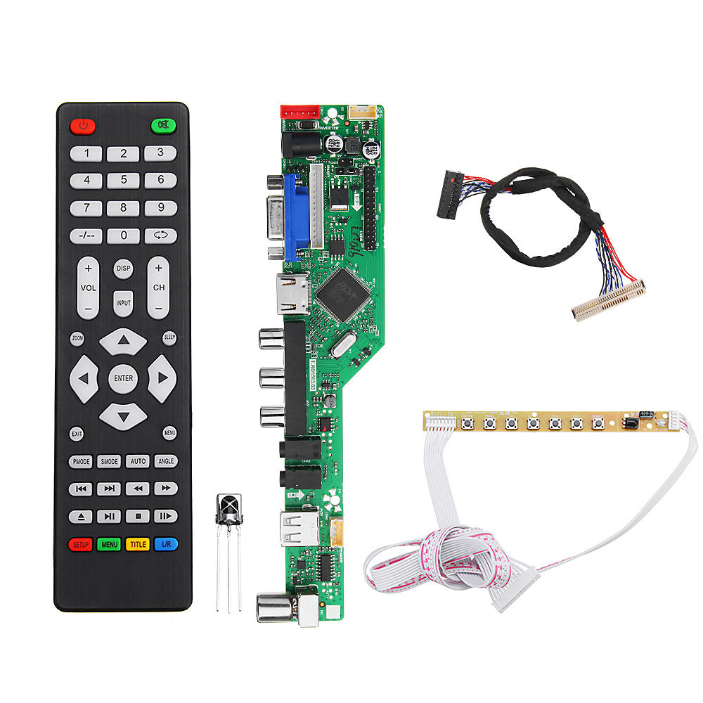 T.RD8503.03 Universele LED-tv-controller LCD Driver Board 1ch 6bit 30Pins