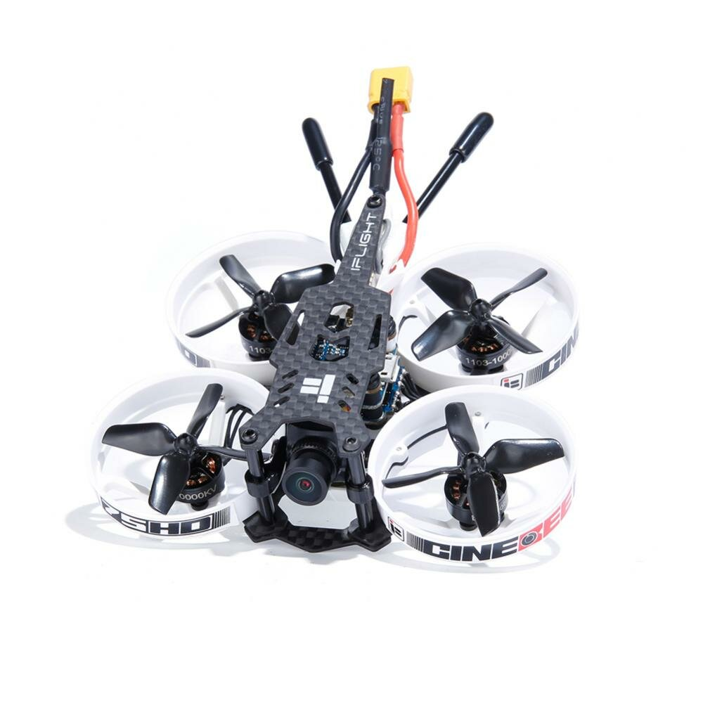 iFlight Cinebee 75HD Plus F4 Cinewhoop FPV Racing Drone PNP BNF w / Runcam Split 3 Nano HDカメラ