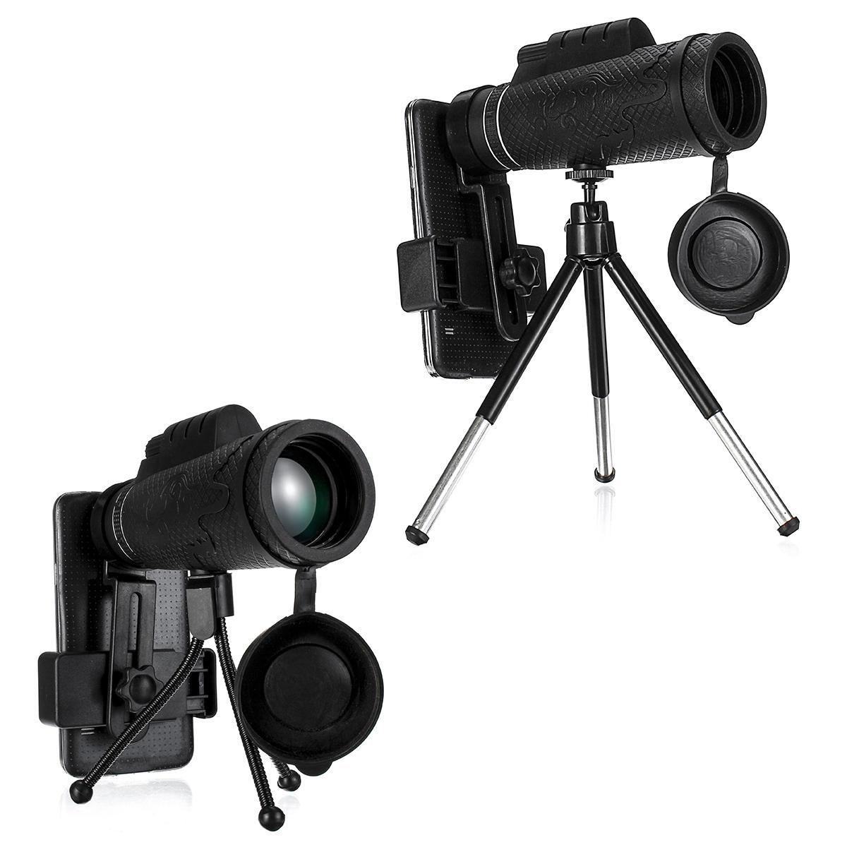 50x60 HD Zoom ottico lente Monocoli per telescopio da esterno campeggio Caccia fotografica con treppiede