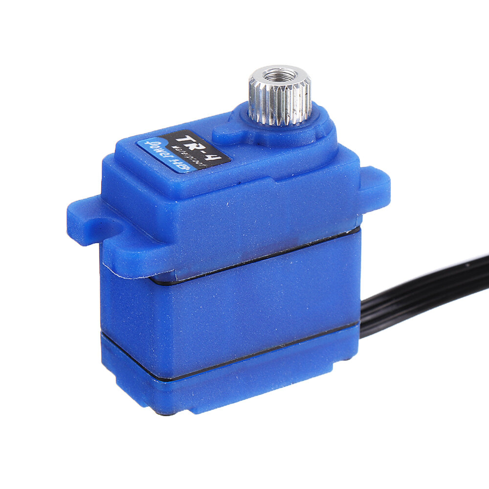 Power HD TR-4 Mini 7.4V 2.6KG Waterproof Metal Gear Servo for TRX4 RC Vehicles Model Parts