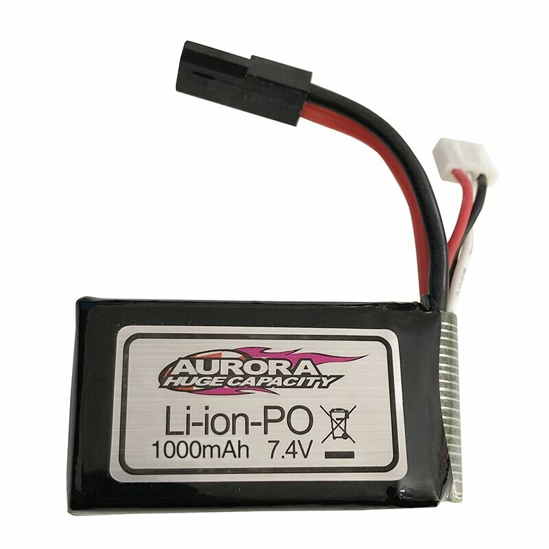 Xinlehong Upgraded 7.4V 1000mAh 30C 2 Cell Lipo Battery for 9130 9136 9137 1/16 RC Vehicles Parts