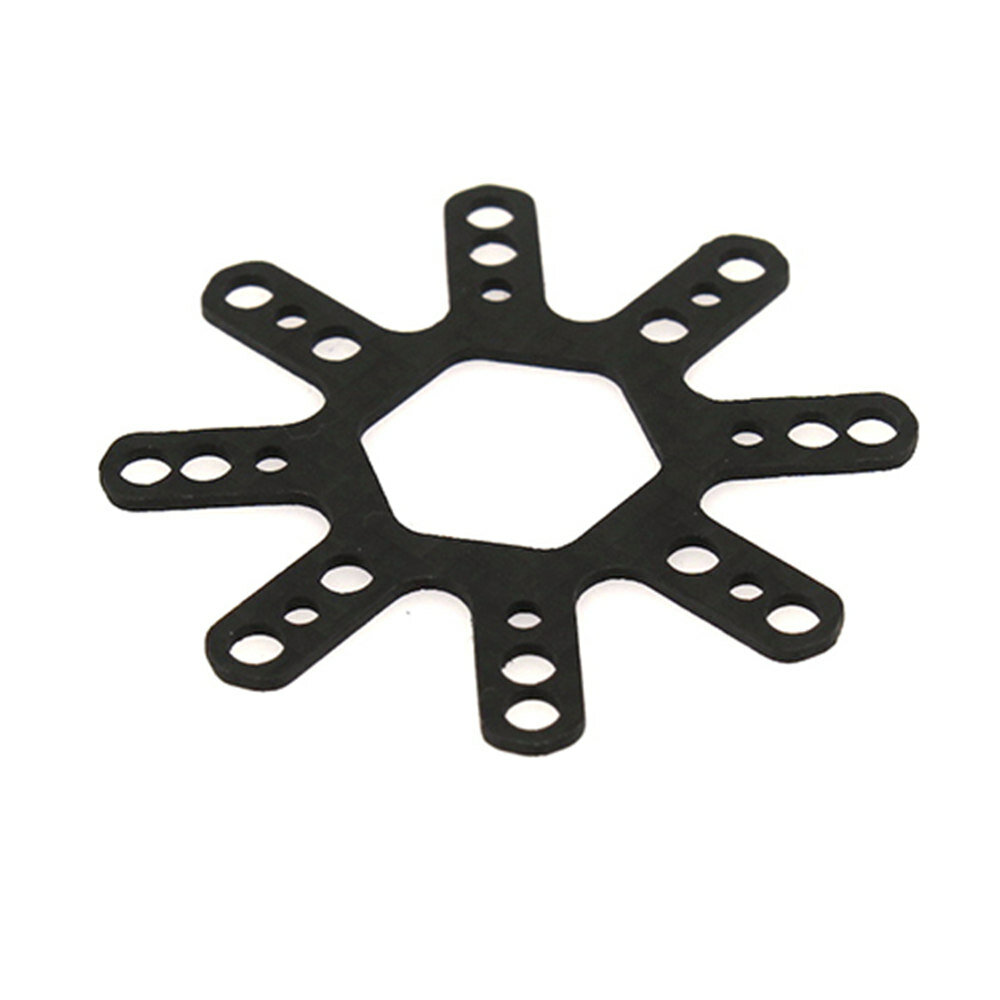 HBFPV 16x16mm 20x20mm 30.5x30.5mm Flight Controller Fixing Plate Carbon Fiber for RC Drone