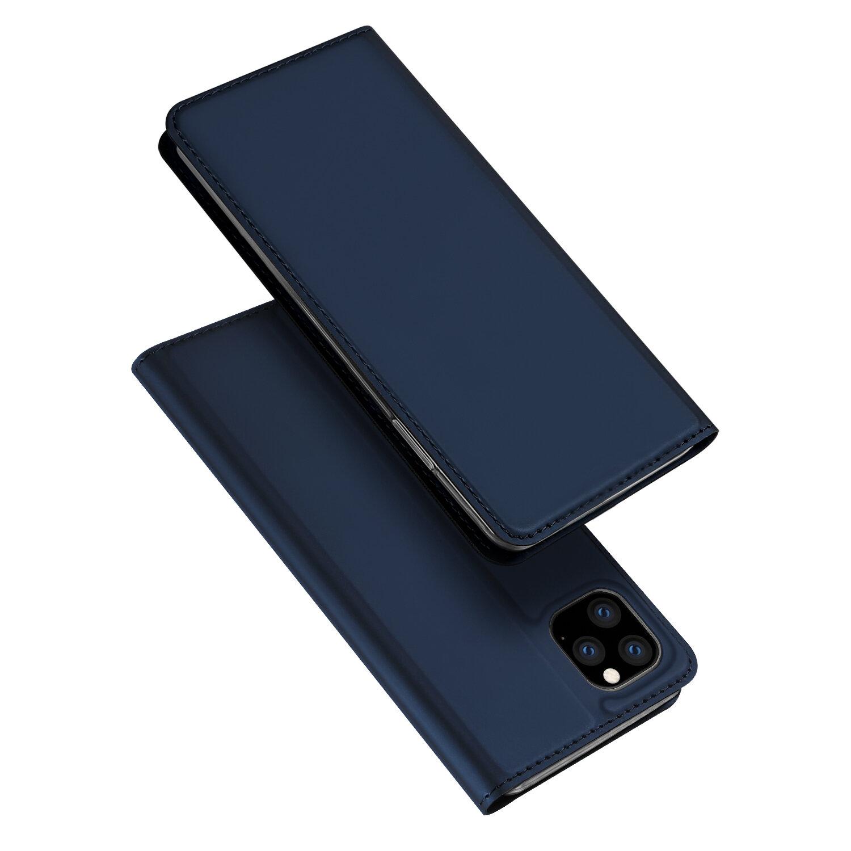 DUX DUCIS Flip Magnétique Antichoc avec fente pour carte Etui de protection en cuir PU pour iPhone 11 Pro 5.8 pouces