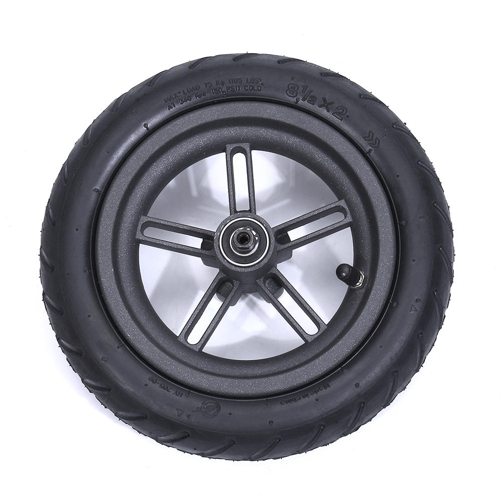 8.5 inch Wheel Rear Tire Wheel Complete Rubber Pneumatic For MI E-scooter