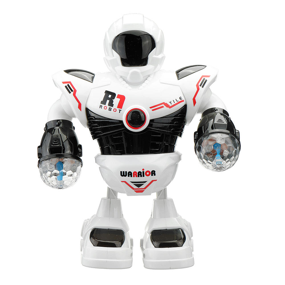 YILE R1 ABS Smart Music Dancing RC Robot Toy With Shining Light Gift For Children