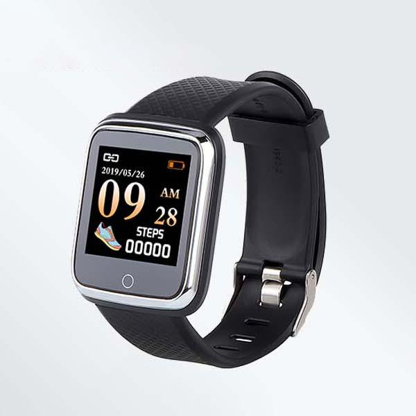 XANES® B11pro 1.3'' Color Single Touch Smart Watch ECG Blood Pressure Monitor Remote Camera Anti-lost Fitness Sports Bracelet