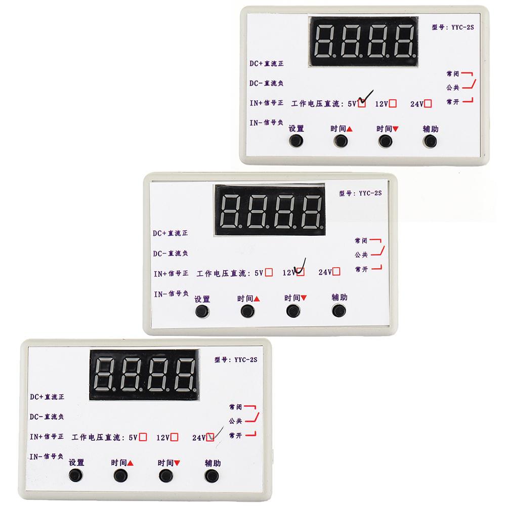 5V / 12V / 24V LED Display Modulo interruttore controllo automazione timer regolabile