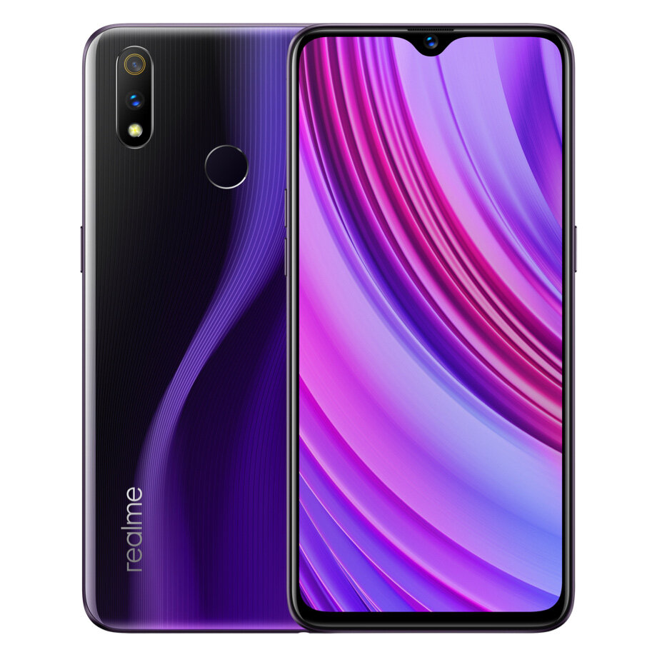 OPPO Realme 3 Pro Global Version 6.3 pouce FHD + Android 9.0 4045mAh 25MP AI Caméra frontale 6GB RAM 128GB ROM Snapdragon 710 Octa Core 2.2Ghz 4G Smartphone