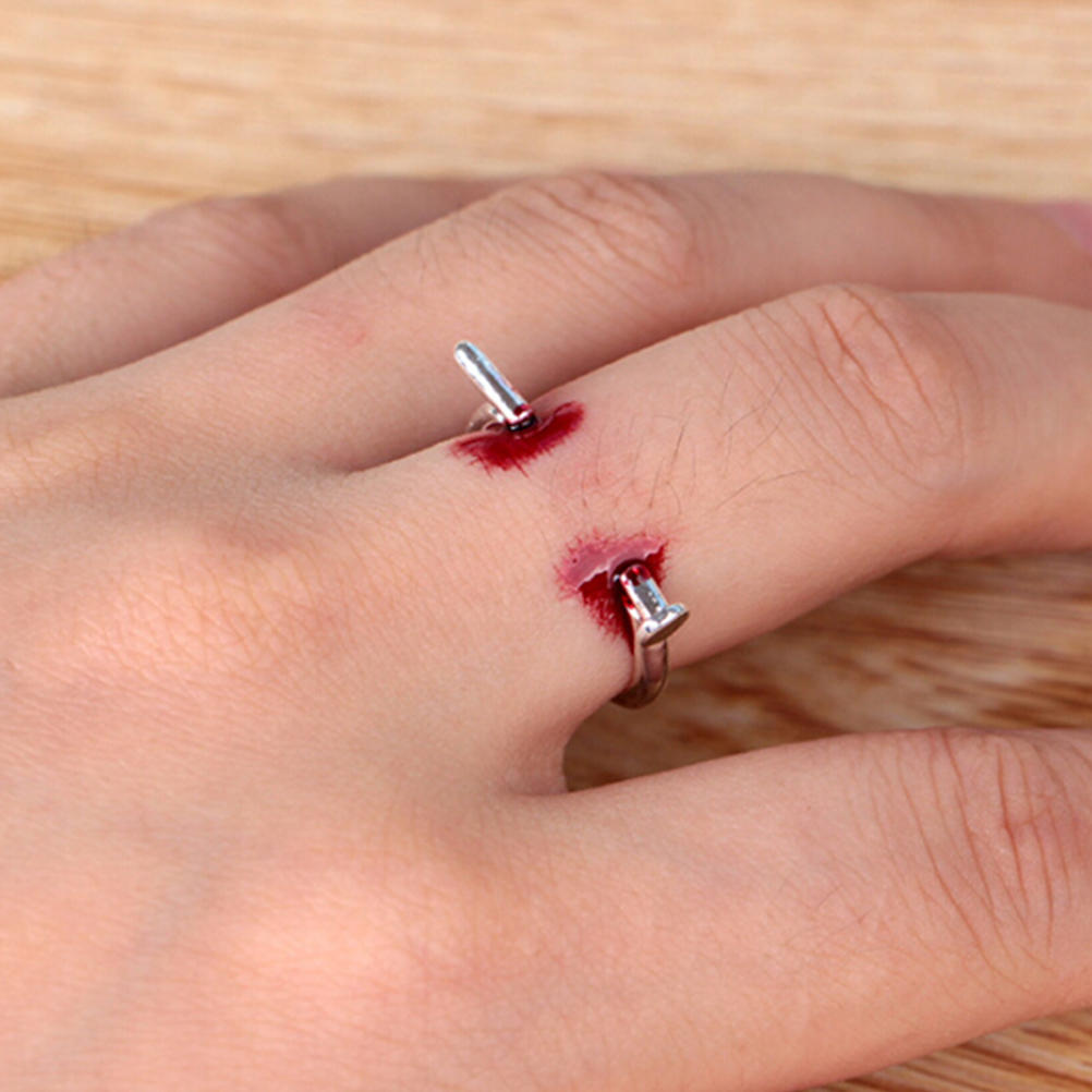 Adjustable Ring Creative Horror Ring Simple Style For Halloween Party Gifts For Women
