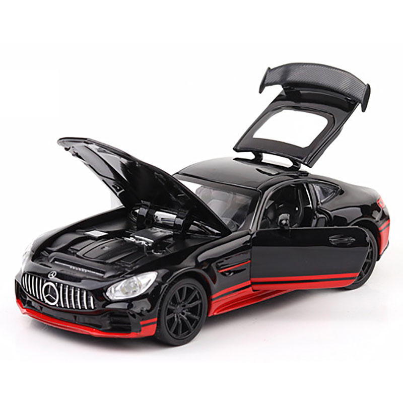1:32 Alloy Metal Car with Light Diecast Model Toy for Children Gift