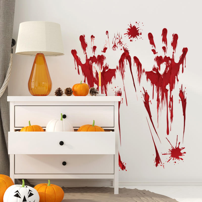 Miico SK31006 Cartoon Sticker Halloween Wall Sticker For Kids Room Decoration Halloween Party Decorations