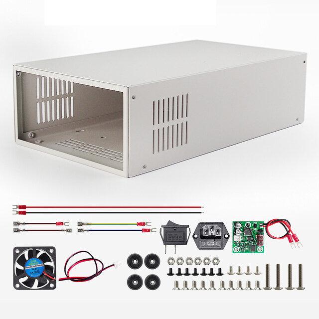 Цифровой блок питания Чехол S06A для RD6006 RD6006W Преобразователь напряжения Металлический корпус Корпус Не содержит блок питания