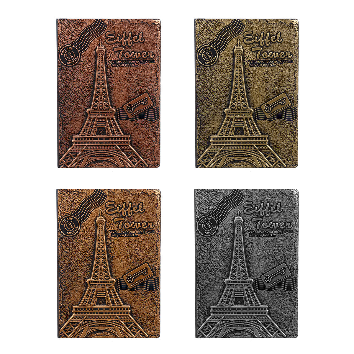The Eiffel Tower in Paris Eiffel Tower Notebook Travel School Notebook Gift for School Office Supplies