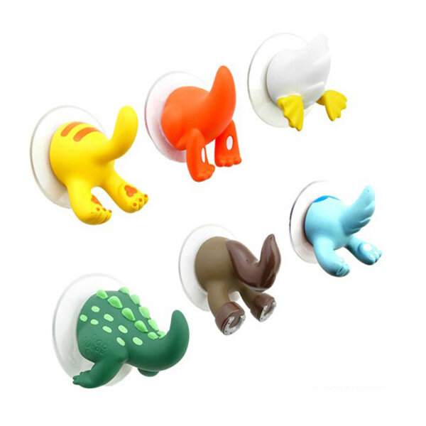 Grappige Cute Animal Tail Wall Hooks En Hangers