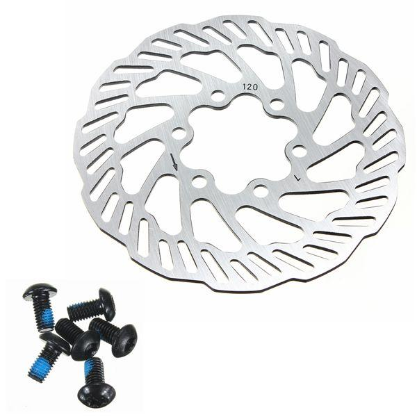 Cycling Bicycle Bike Brake Disc Rotors 120mm/140mm/160mm/180mm/203mm With Bolts
