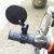 BIKIGHT 1st Mini Verstelbare 360 ° rotatiemotor Spiegel Fietsen Fietsstuur Flexibele achteruitkijkspiegel