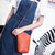 Women Irregular Little Phone Bag Casual PU Crossbody Bag Bucket Bag