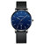 CRRJU 2270 Men Simple Dial Business Style Fashion Full Steel Strap Quartz Watch