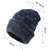 Unisex Winter Plus Velvet Thick Warm Hat Outdoor Windproof Fashion Knitted Hat Beanie