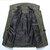 رجال العسكرية متعددة جيوب الكتفية الصلبة اللون القطن العمل البضائع سترة