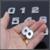 3d emblema emblema autocolante número letra etiqueta diy