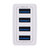 4 USB 5V 5.1A Travel Charger Power Adapter For Smartphone Tablet PC