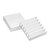 10Pcs 14x14x4mm Aluminum Radiator Chip Heat Sink