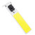 LUSTREON DC12V 9.6W 48 LED COB Chip Strip DIY Light Source 900LM with ON/OFF Switch