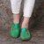 Lostisy Large Size Women Casual Flowers Round Toe Sandals