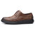 Men Brogue Carved Microfiber Casual Business Leather Oxfords
