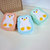 Plastic Kids Lunchbox Food Container Box Microwavable Lichtgewicht Leuke Penguin Bento Box