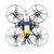 Happymodel Mobula7 V2 75mm Crazybee F3 Pro OSD 2S Whoop FPV Racing Drone w / Upgrade BB2 ESC 700TVL BNF