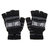 Electric Heated Gloves Warm USB Powered Heating Motorcycle Skiing Black/Rose Red
