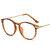 Luz azul do quadro retro dos vidros da Anti-Radiação que obstrui o cuidado pessoal Óculos Óculos óptico