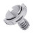 3pcs LS003 BEXIN 1/4 Inch Stainless Steel C-ring Screw for Camera