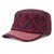 Women Men Cotton Print Sunscreen Flat Hats Outdoor Casual Travle Visor Caps