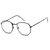 Occhiali da sole unisex con montatura in metallo e occhiali da sole multicolore