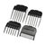 Electric Professional Cat Dog Clipper Cordless Pet Hair Grooming Trimmer Shaver Kit Tool 3mm/6mm/9mm/12mm Head Combs