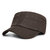 Mens Cotton Patchwork Military Army Cadet Cap Adjustable Sunscreen Flat Top Hats