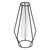 Flower Vase Holder Plant Display with Iron Stand and Glass Tube for Hydroponics Ornament Decorations in Different Size