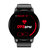 Bakeey S01 1.22inch Full Round Touch Heart Rate Blood Pressure Oxygen Monitor Music Weather Sports Smart Watch