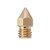 5PCS 3mm/0.4mm Copper MK8 Thread Extruder Nozzle For 3D Printer