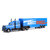 COMEAN RB1901 1/16 2.4G 2WD Rc Car Simulated Tractor Transport Vehicle RTR Model
