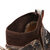 Men Cow Leather Camouflage Spicing Weave Sock Mouth Casual Ankle Boots