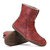 Women Solid Plush Lining Comfortable Casual Winter Mid Calf Boots Snow Boots