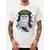 Men Monkey Printed Short Sleeve Crew Neck Cotton Cute T-Shirts