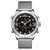 NAVIFORCE 9153 Waterproof Dual Display Watch Calendar Full Steel Business Men Digital Watch
