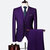 Three Pieces Wedding Suit Business Formal Show Evening Party Dressing Suits