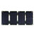 18W USB ETFE Sunpower Foldable Solar Panel Outdoor Camping Power Bank Charger
